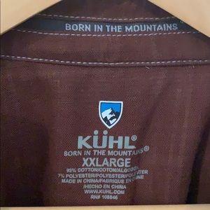 Kuhl Men's Plaid Button Down, Long Sleeve Shirt